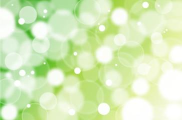 緑のきらめき 光 輝き