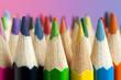 Multicolored Crayon Tips