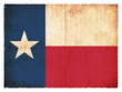 Grunge-Flagge Texas (USA)