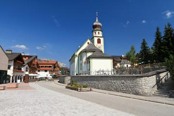 Alto Adige - church in San Cassiano