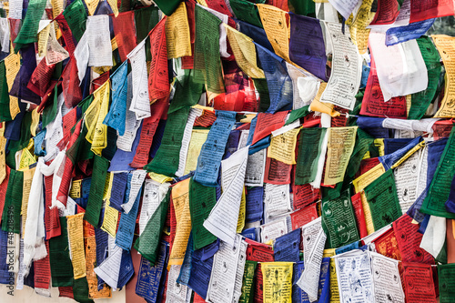 Buddist prayer flags