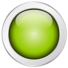 Button grün, rund, Struktur