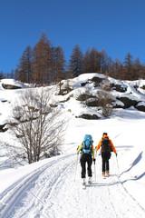 Sports d'hiver - ski de randonnée