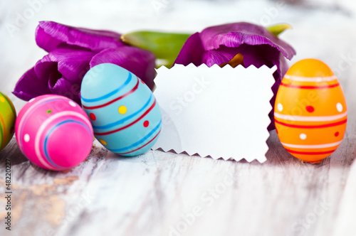 Ostern mit Blankozettel