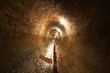 Underground old waste system