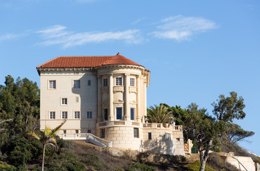 Modern mansion in Malibu california