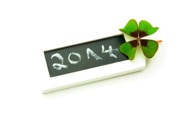 Neujahr 2014 - Viel Glück