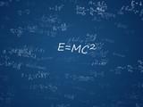 Physics and mathematics poster