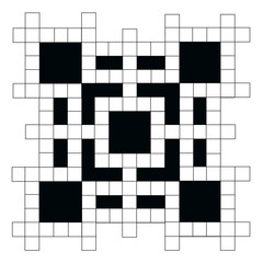 empty crossword puzzle