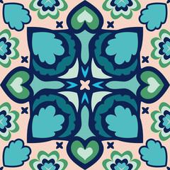 Seamless oriental geometric pattern,vector illustration