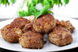 cutlets of meat