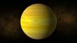 Planet saturn space, stars