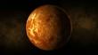 Planet venus space, stars