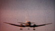 Airplane Landing 1958-Vintage 8mm film