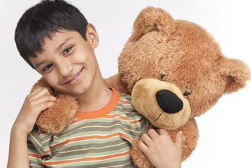 Indian boy in indoors