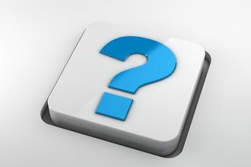 question mark keyboard key
