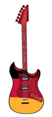 electric guitar made in German style