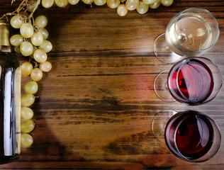 Textura de vinos de madera