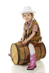 Happy Barrel Rider