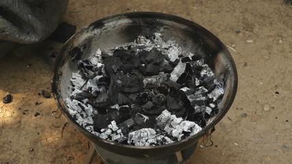 BBQ Charcoal preparation