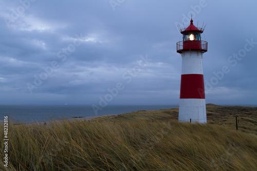 Fototapeten,leuchtturm,sylt,insel,north sea