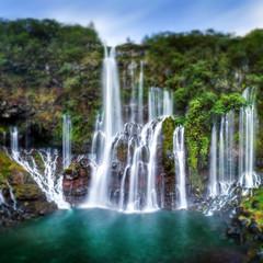 Wodospad Grand-Galet