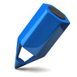 Blue pencil icon