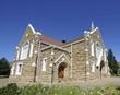 Historic sandstone church, Lady Gray, Eastern cape
