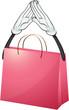 A pink bag