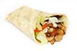 Leinwandbild Motiv Dürüm Kebab