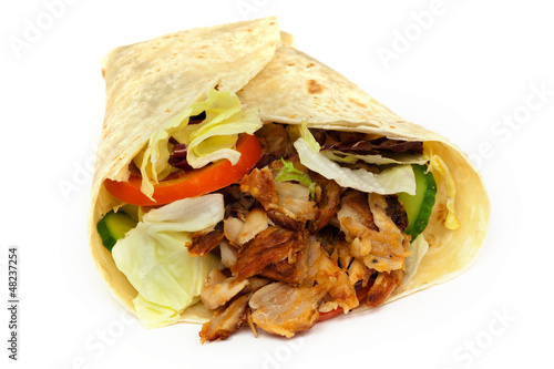 canvas print picture Dürüm Kebab