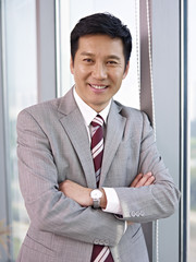 portrait of asian businessman