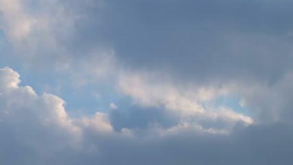 Big Cloud Build-Up - Time Lapse.