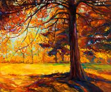 Hösten träd