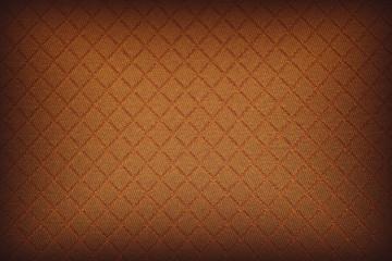 Hintergrund Abstrakt Wabenmuster Orange Vignette