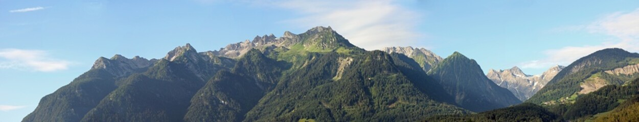 Bergpanorama Tirol