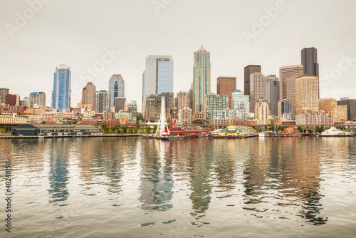 Cityscape of Seattle