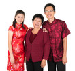 Happy Asian Chinese family