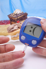 Funny Blood sugar test