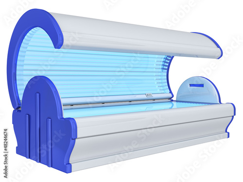solarium on a white background
