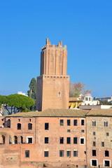 Torre di Nerone o Torre Pendente o Torre delle Milizie