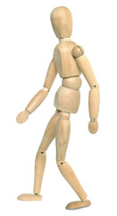 Wooden Dummy Walking