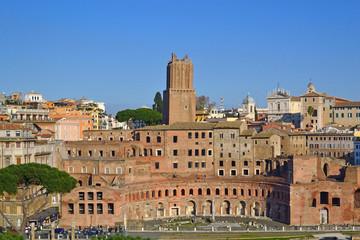 Il Foro e i Mercati di Traiano dal Vittoriano