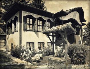 Old home in historic Koprivshtitsa, Bulgaria