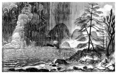 Prehistoric Landscape - Permian - Permien - 48252480