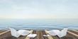 Urlaub, Sommer, Sonne, Strandterrasse