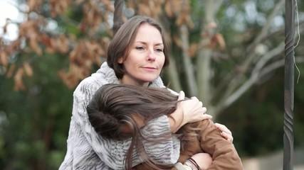 mère et fille - réconfort