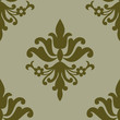Baroque style seamless pattern - wallpaper