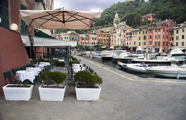 Vicolo caratteristico di Portofino