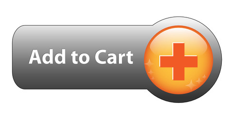 ADD TO CART Web Button (e-shopping order buy now online basket)